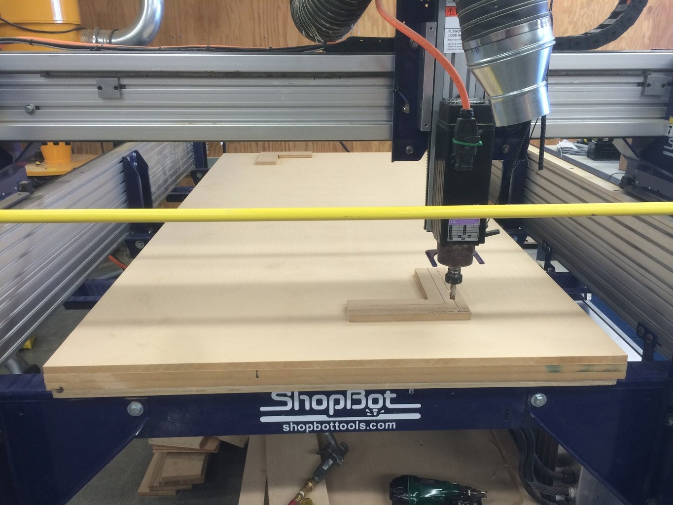Fixture + Align Your Material to the CNC Shopbot