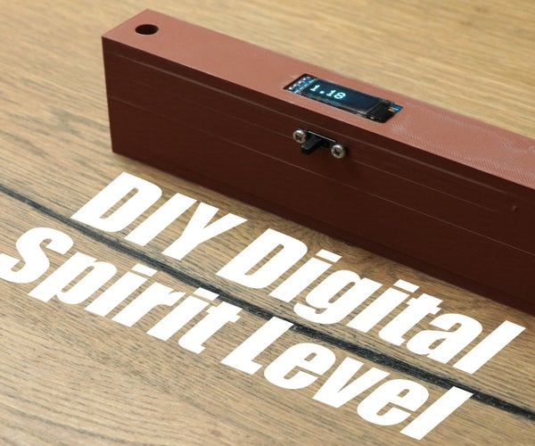 DIY Digital Spirit Level