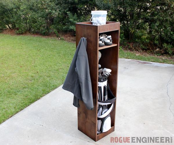 Golf Bag Locker