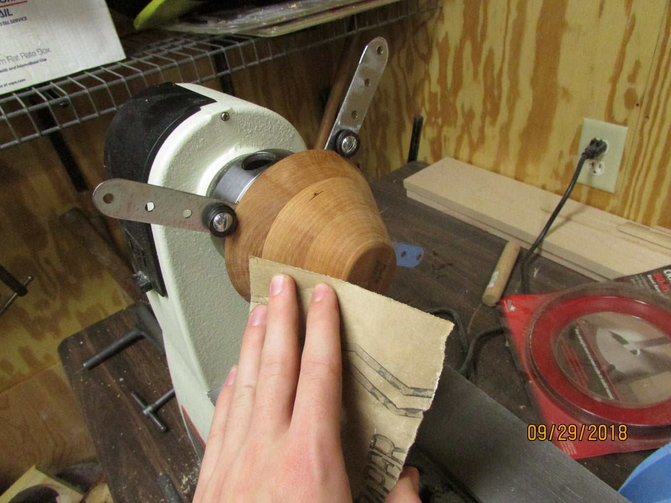 Attaching to the Lathe