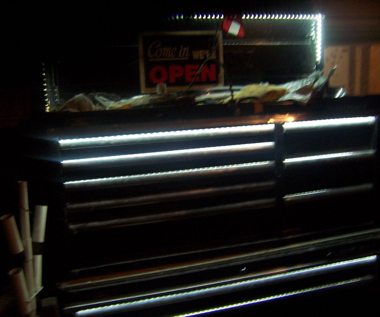 LED Lighted Tool Box