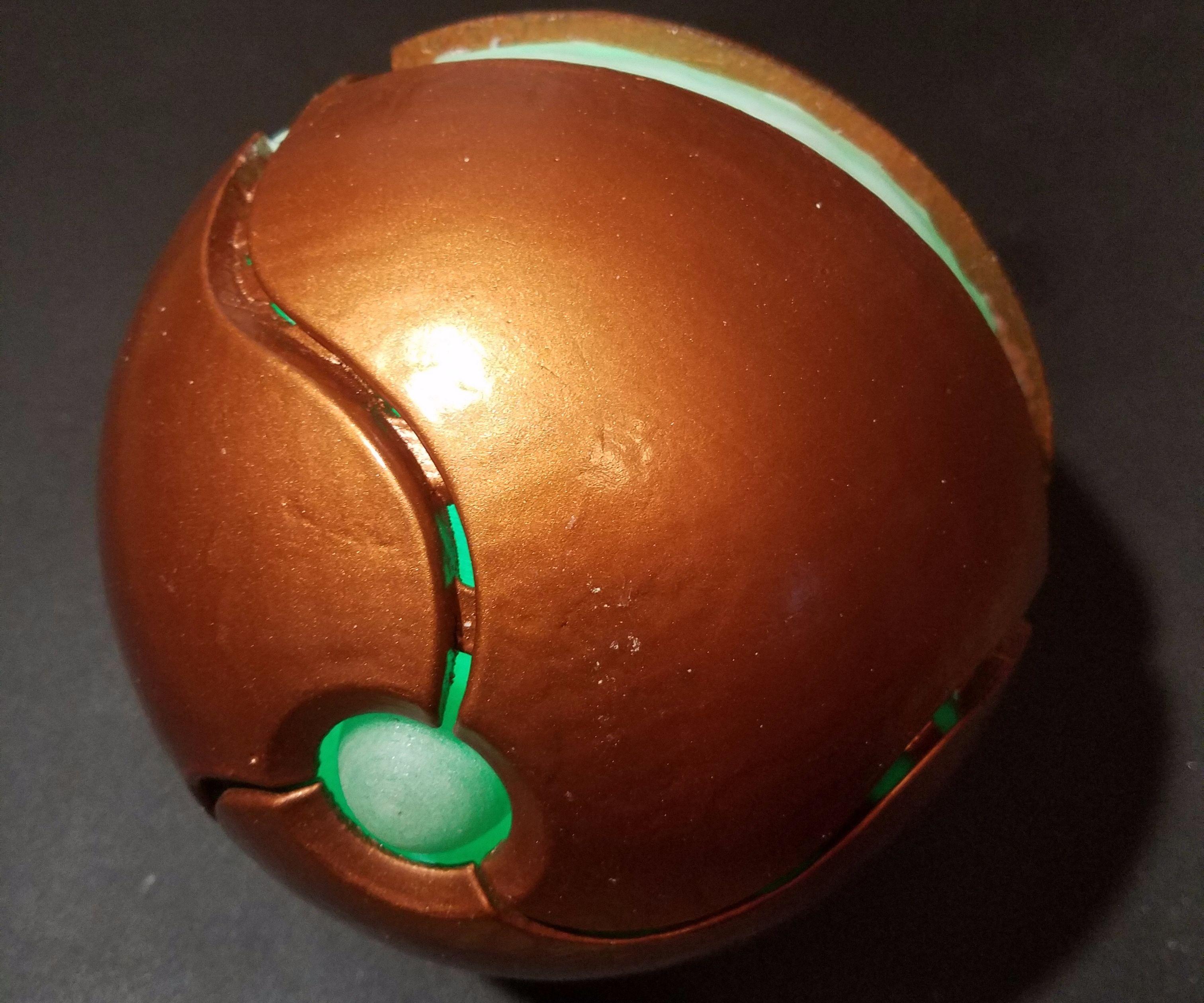 Samus Morphball (Arduino)
