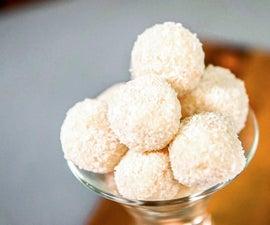 Homemade Raffaello Coconut and Almond Balls