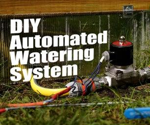 DIY自动化浇水系统