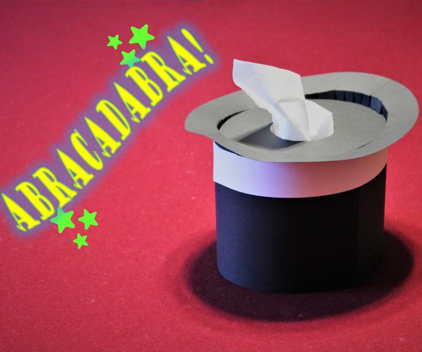 Magician's Hat Tissue Box Cover