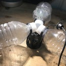 Mist Floater Out of Recycled Bottles