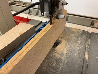 Preparing the Wood Slides