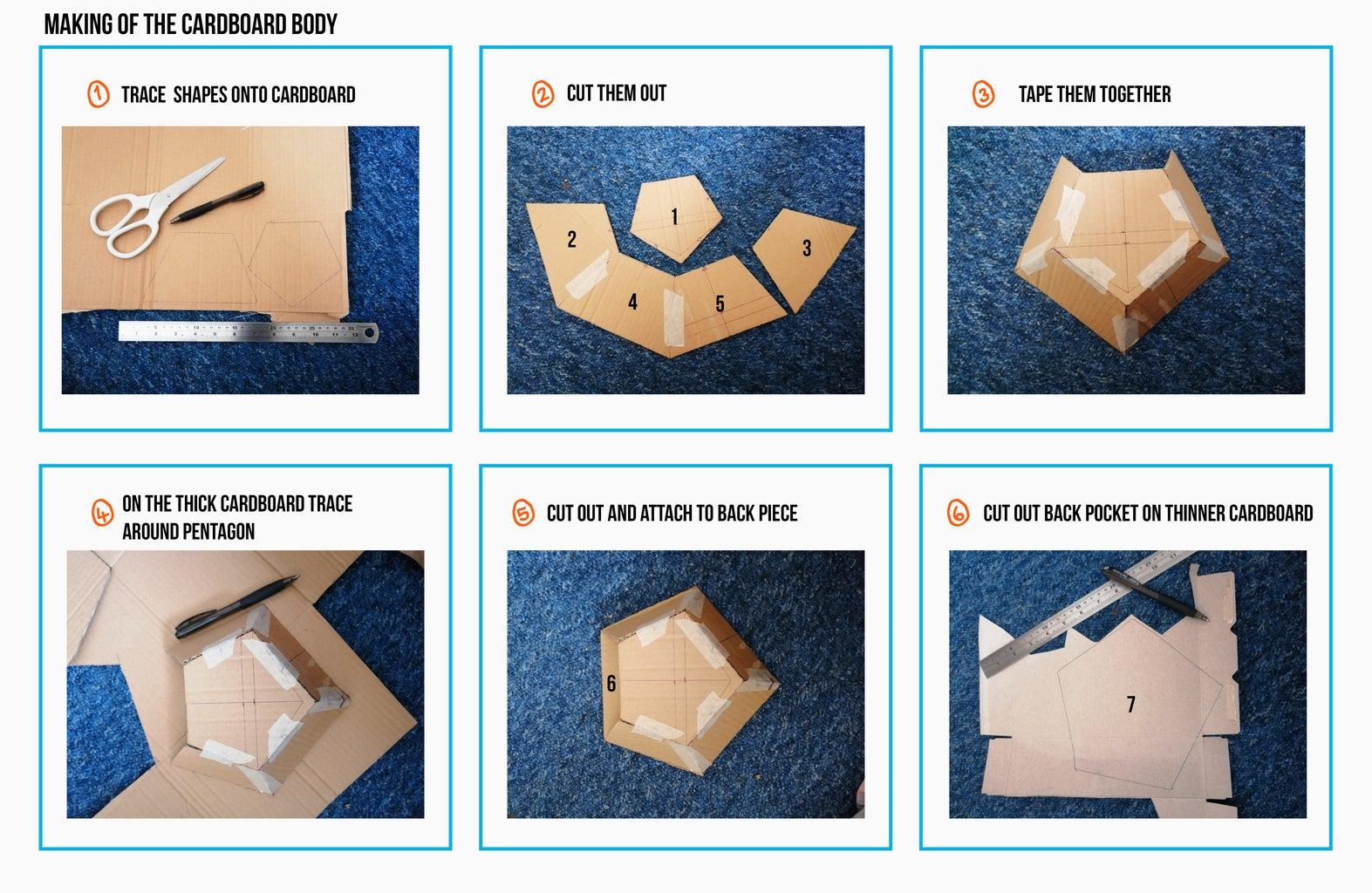 Making the Cardboard Body