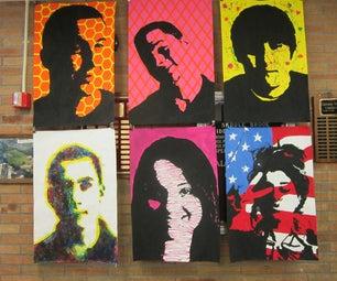 Art Display for School Hallways