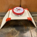 Dog Food Bowl Stand - Plywood and 3d Printing