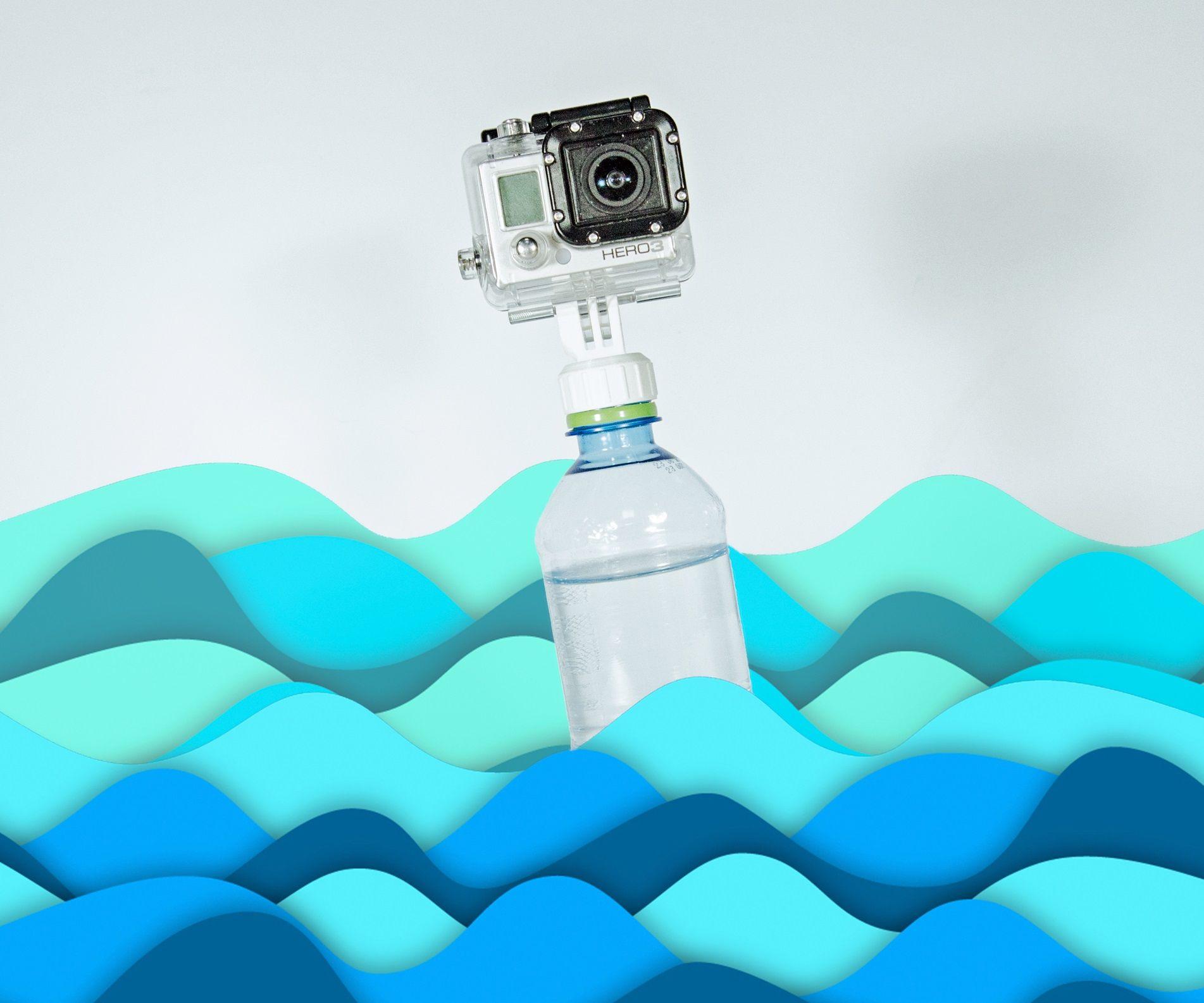 DIY GoPro Bottle Mount Attachment