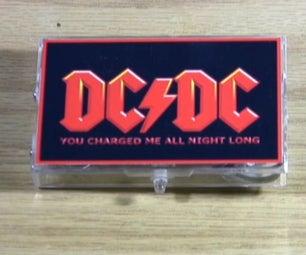 $2 Cassette Box Cellphone/USB Charger