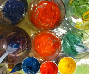 Teaching Colors With Frosting