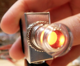 Radioshack Illuminated Switch Hack