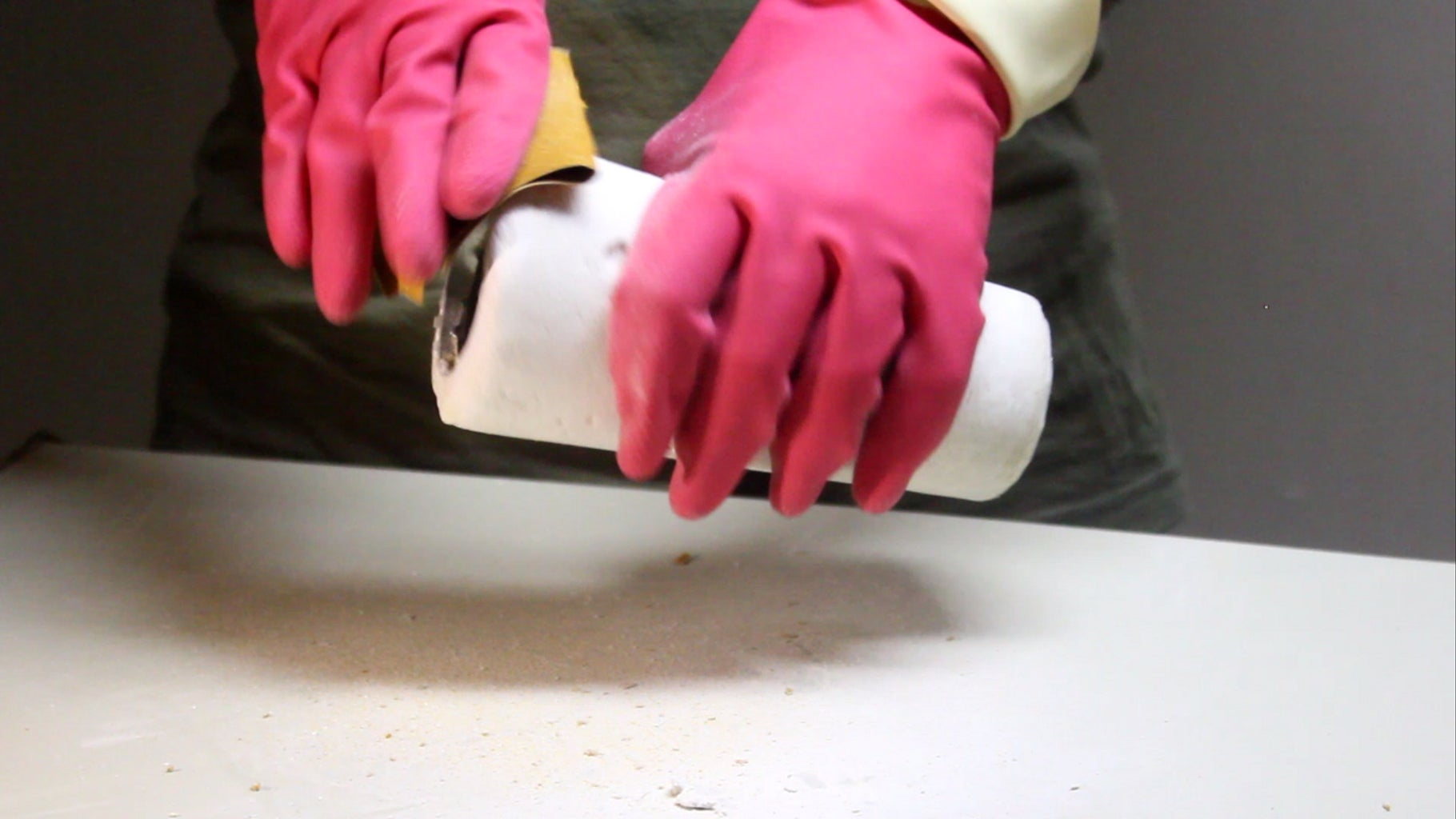SANDING = SMOOTH SURFACE