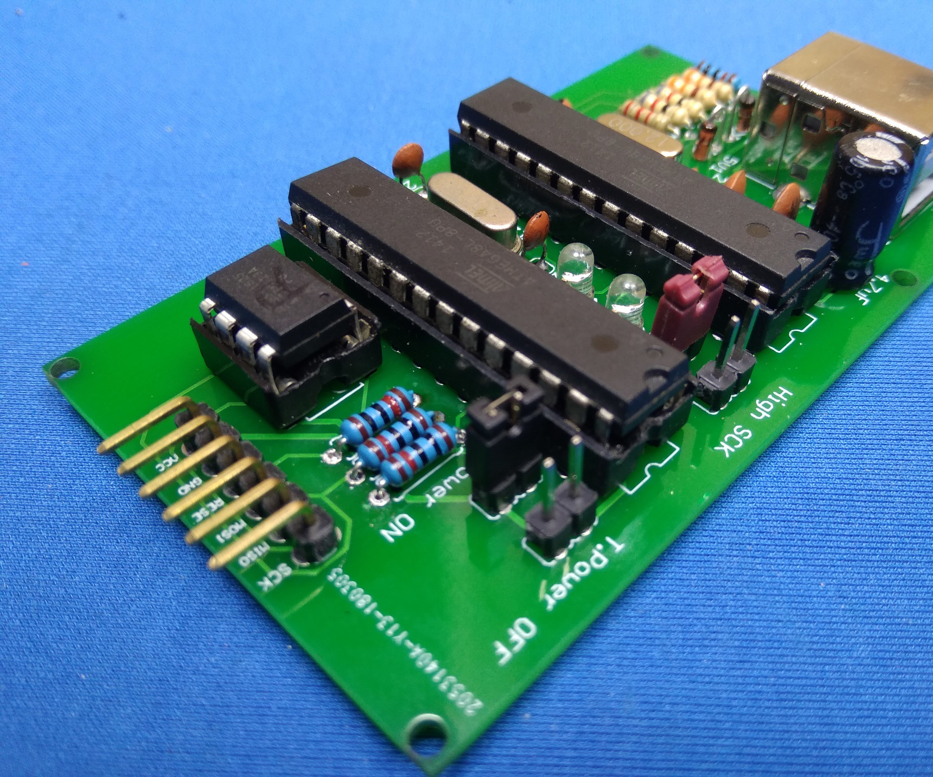 How to Make AVR Programer! ATTiny Programer ! Make USBasp