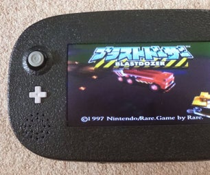 How to Build a Nintendo N64 Handheld Portable Console System