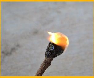 生存松油:沥青,火灾启动,超级胶水!