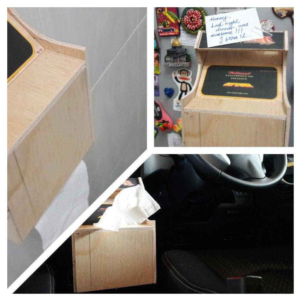 Mini Arcade Cabinet Aka Multi-utility Box
