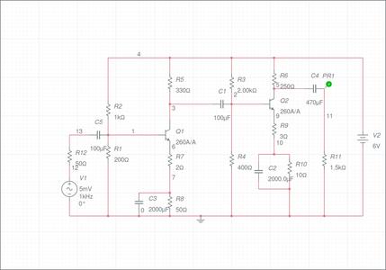 A 2 Stage Amplifier Design