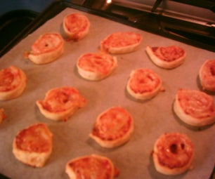 Pizza Pinwheels (Plus: Caramel Pinwheels)