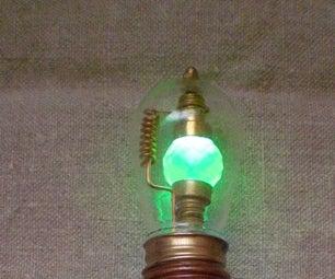 Steampunked Magic Uranium Light