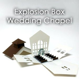 Explosion Box: Wedding Chapel