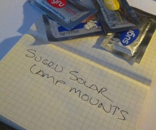 Sugru Solar Lamp Mounts