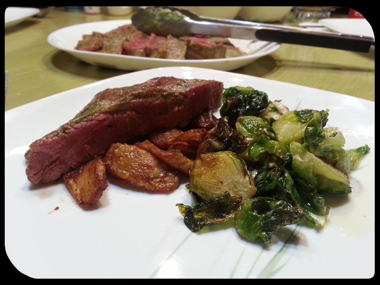 Marinated Steak - Flank - With Cucumber Aioli