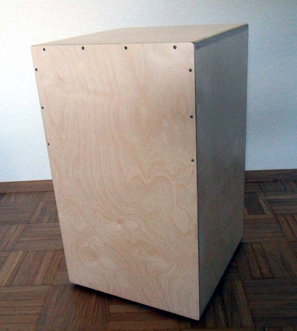 Built Your Own Cajon (a Drum) for Less Than 25.- Euro