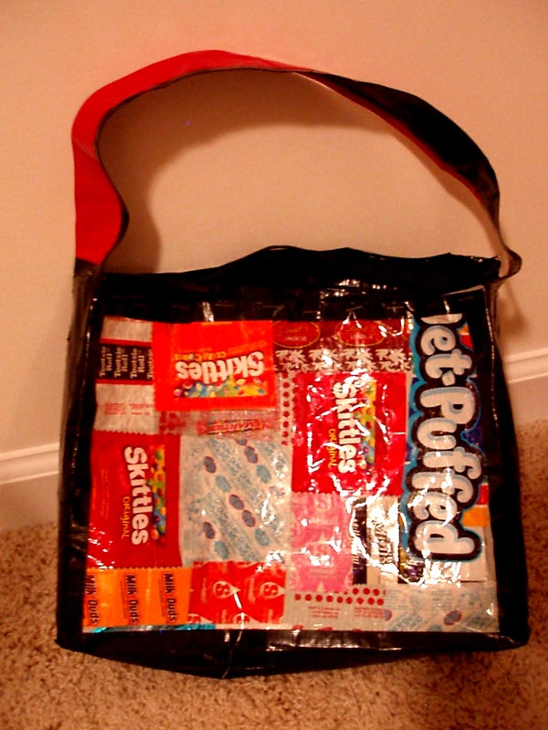 Candy Wrapper Bag