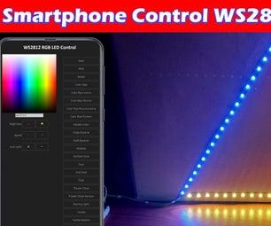 DIY SmartPhone Controlled RGB Led WS2812