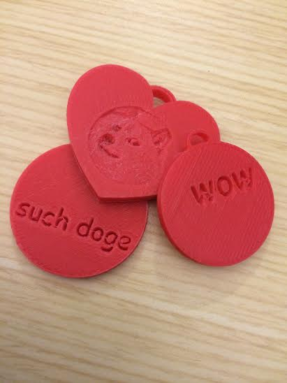 Customizable 3D Printed Charms for Valentine's Day