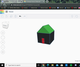 How to Create a House in Tinkercad