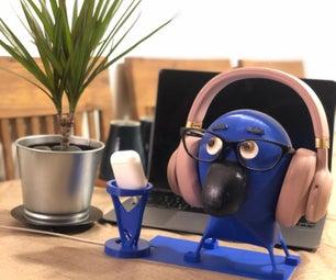 3D Print: Rio Headphone Stand