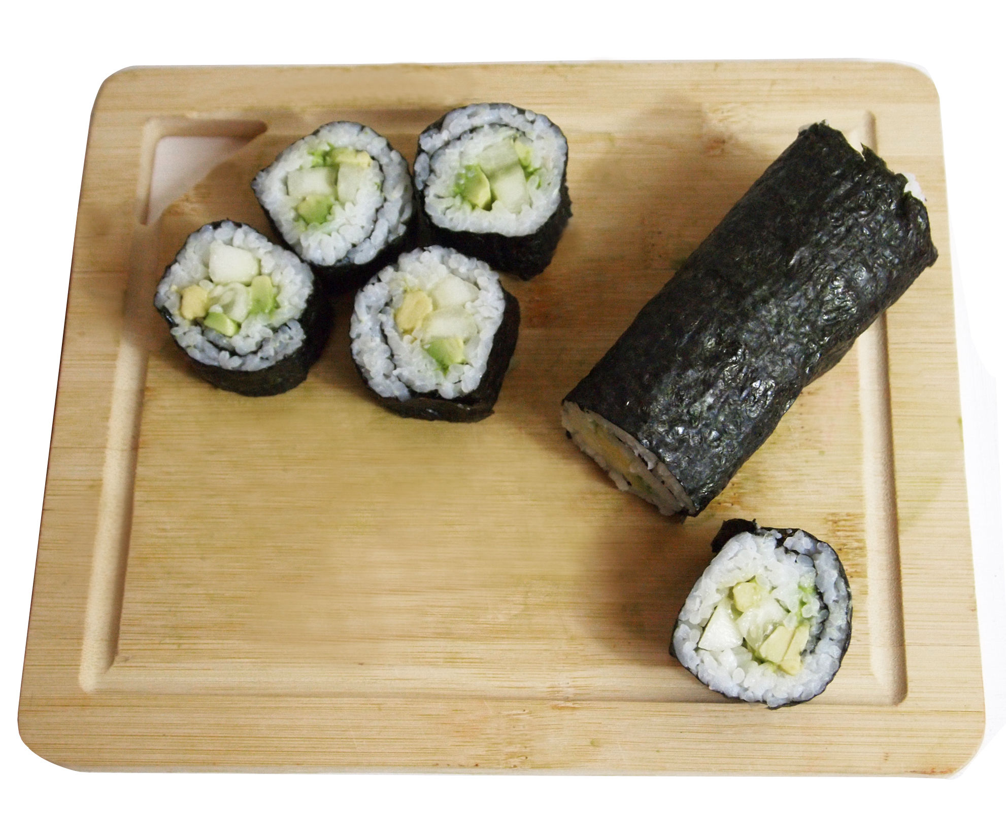 Simple Sushi Rolls at Home
