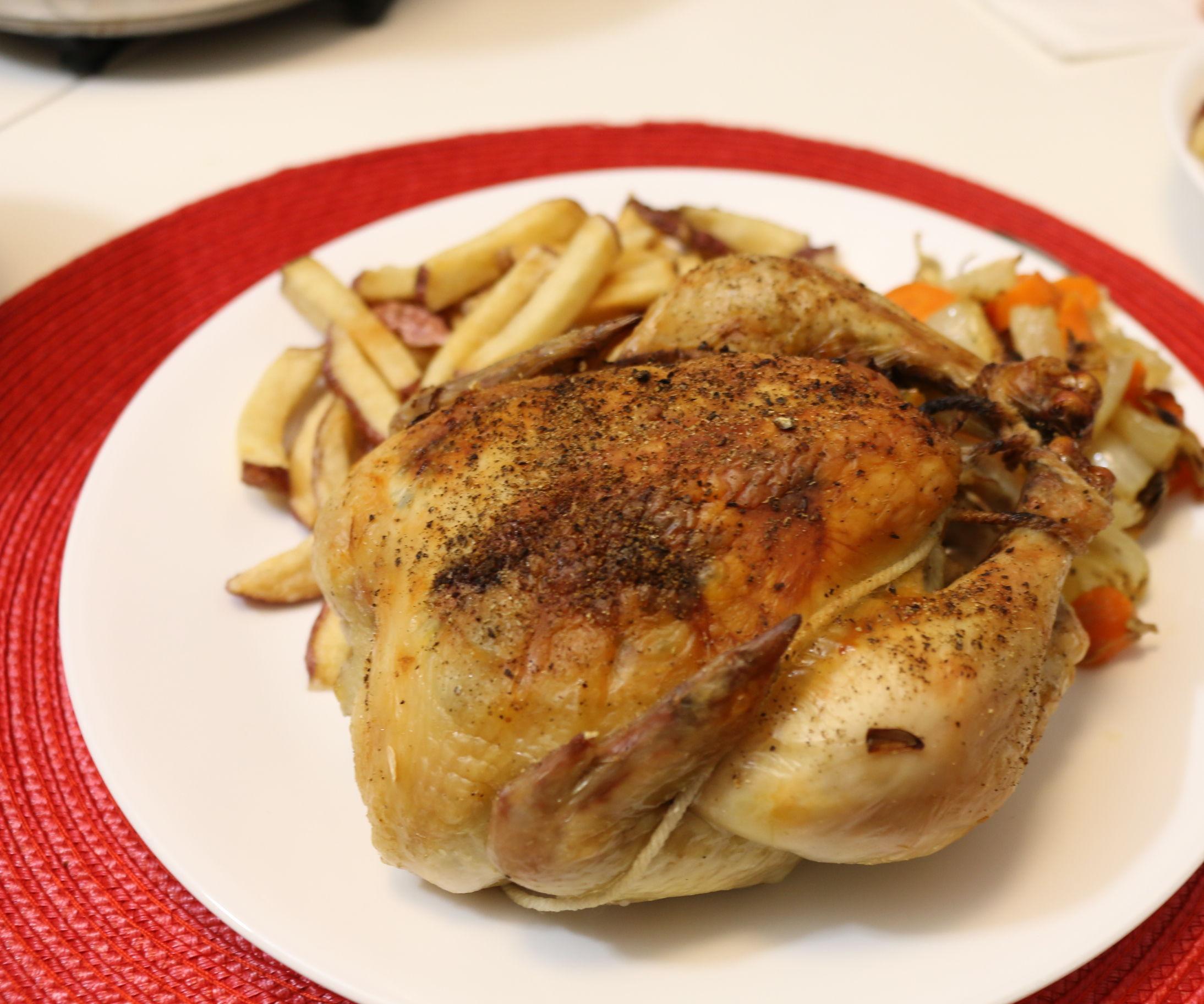 How to Roast Cornish Hens