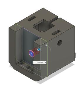 Design Process - Stationary Fixture - Lead Screw Hole