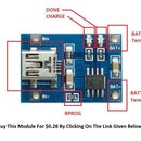 Charge any 3.7 v battery using this cheap battery charging module board