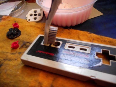 Cleaning the NES Controller