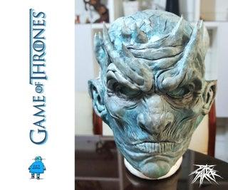 Blue Night King Mask. GOT