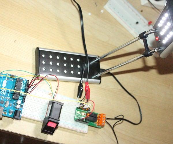 Biometrics Controlled LED Desk Lamp