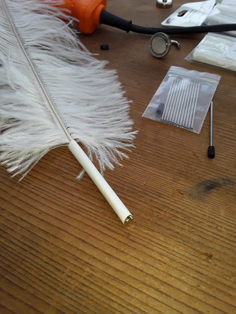 Assemble the Quill Parts