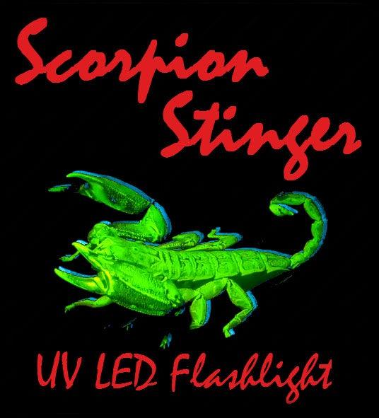 Scorpion Stinger - a High Power UV LED Flashlight