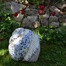 how to make a garden sculpture