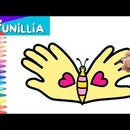 Let's Draw a Hand Butterfly for Mother