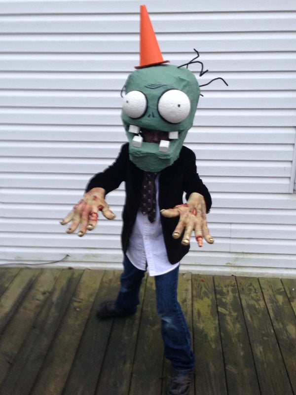 Plants Vs Zombies Costume