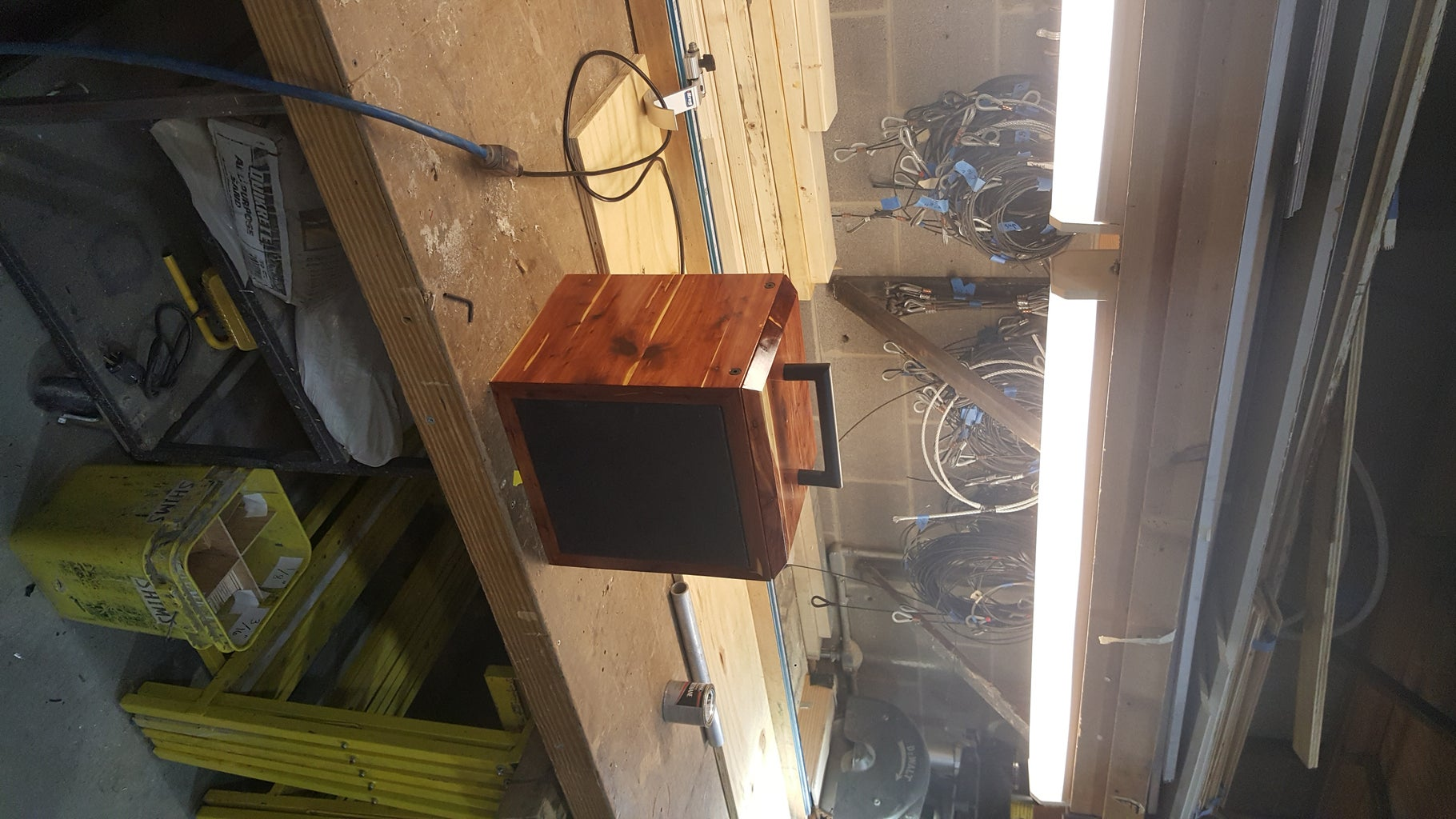 Bluetooth Cedar Speaker Box