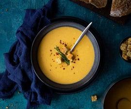 Spicy Roast Butternut Squash Soup