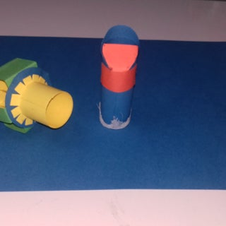 Hand Made Vacuum Cleaner From Paper